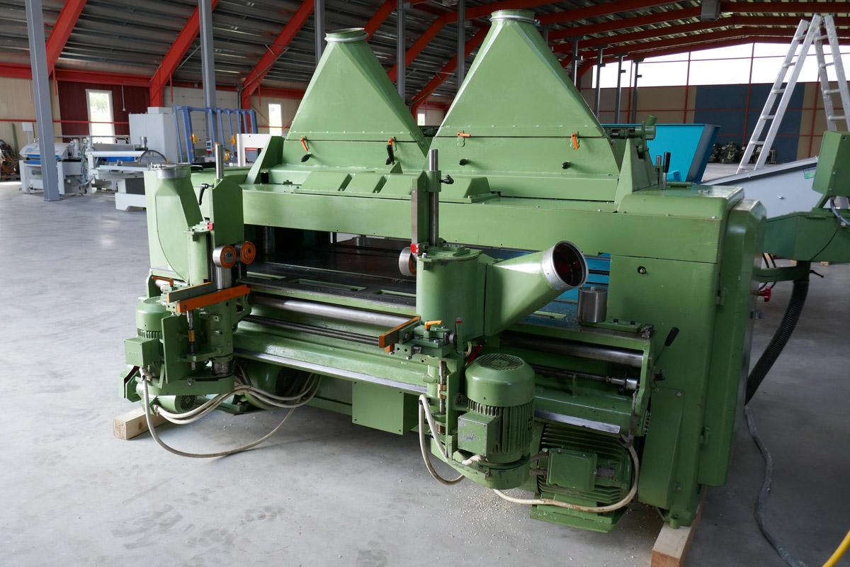 Industrie - 4 Seiten - Breithobelmaschine KUPFERMÜHLE – Typ Doma Neuer Standort Schweiz