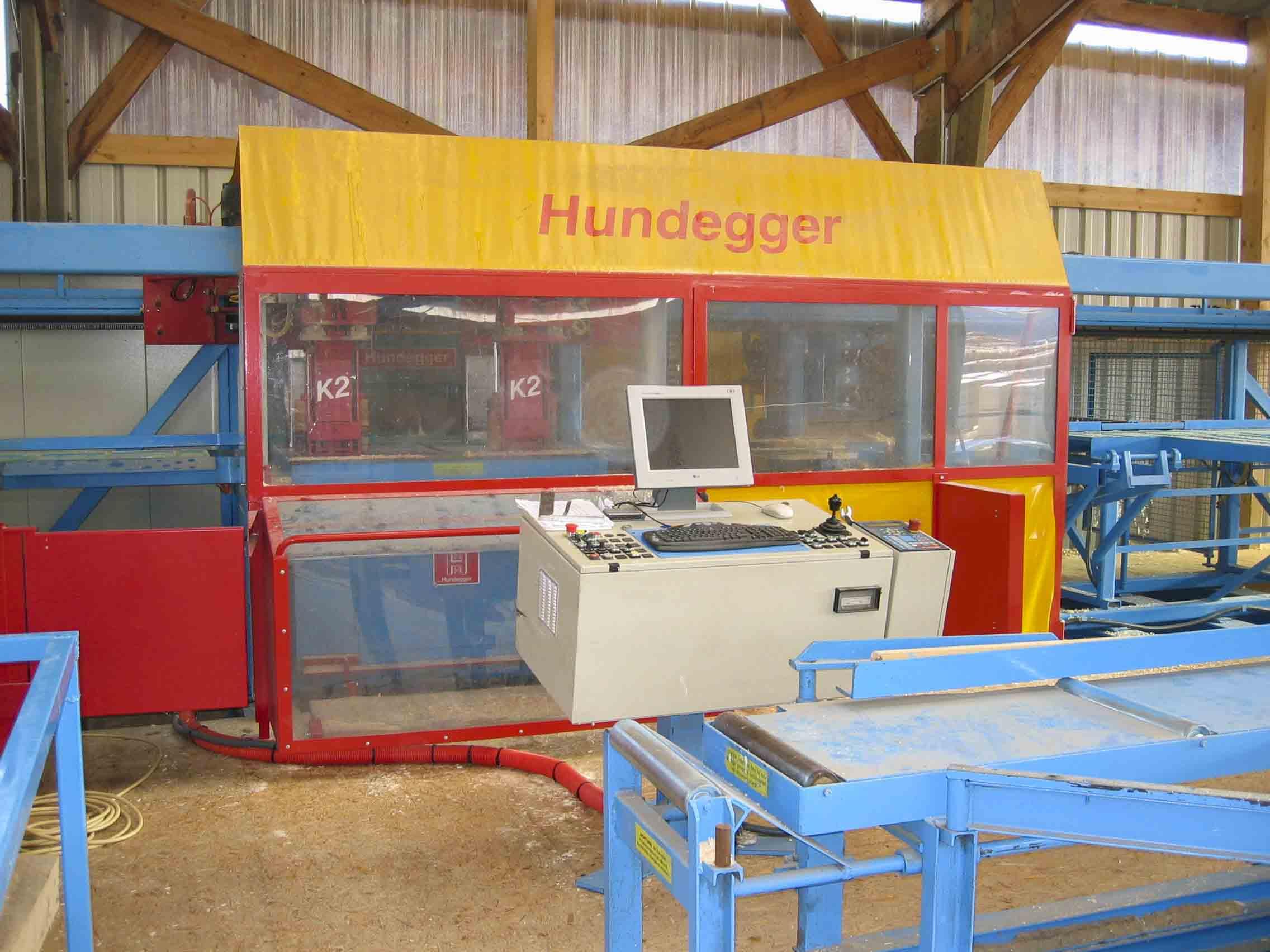 HUNDEGGER K2 – Typ 450 – 4 Achsen mit Hobelautomat – Baujahr 2002