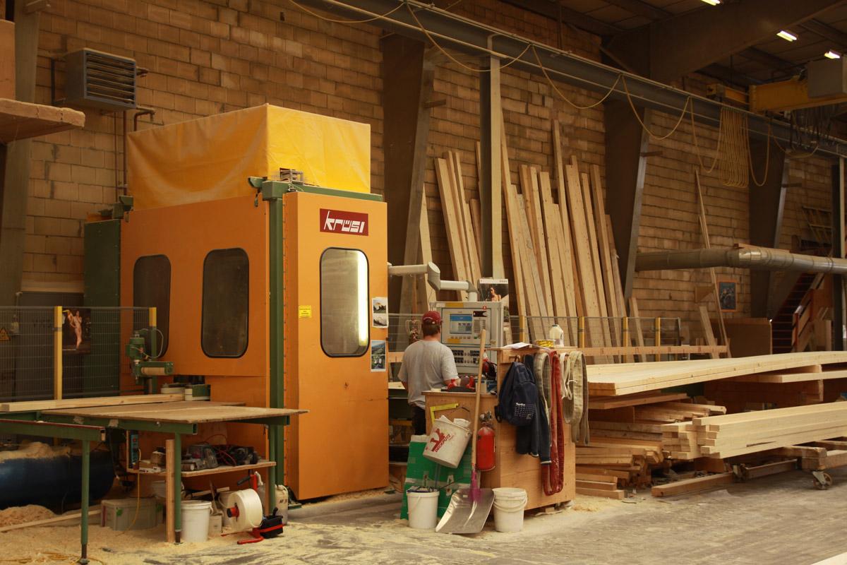 Abbundanlage – KRÜSI – Typ. G1 – 4 Achsenanlage – Baujahr 2004