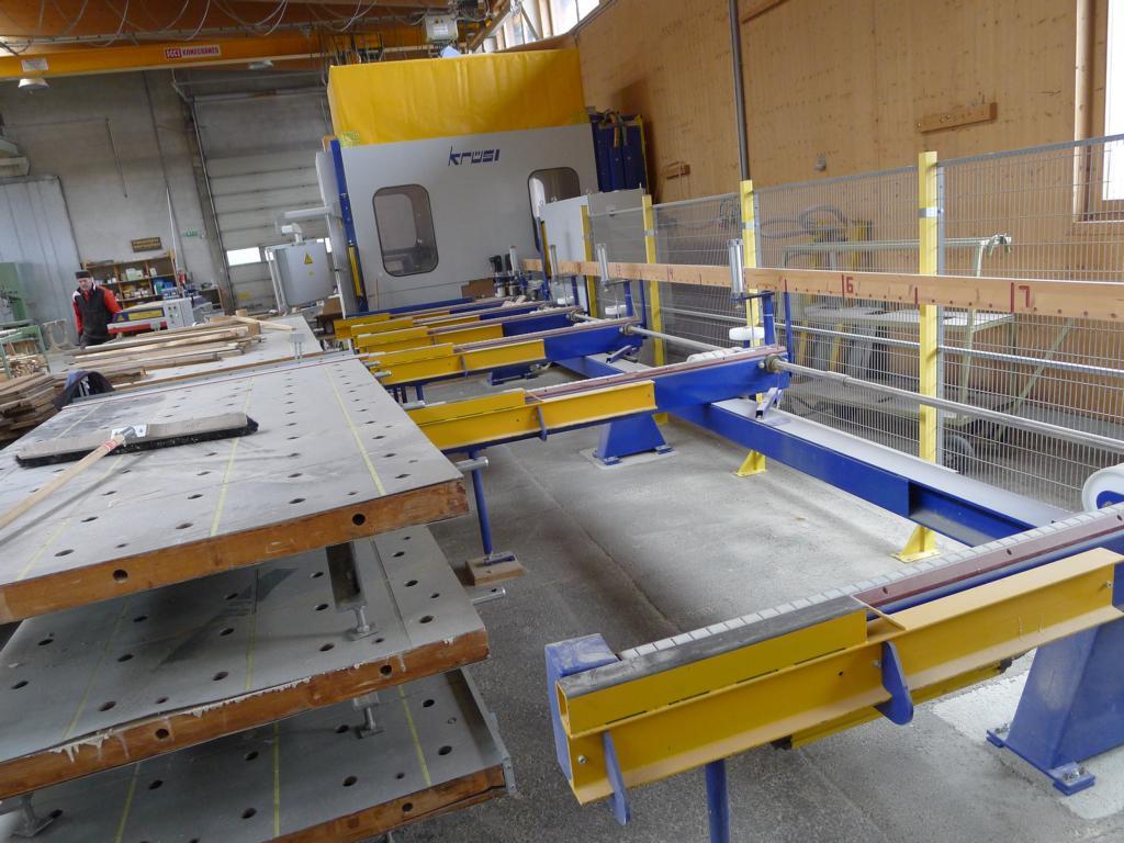 Abbundanlage – KRÜSI – Typ. G1 – 5 Achsenanlage – Baujahr 2010 Neuer Standort Kanada