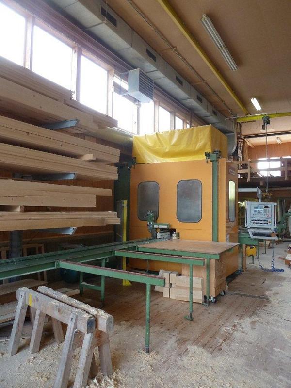 Abbundanlage – KRÜSI – Typ. G1 – 4 Achsenanlage – Baujahr 2001